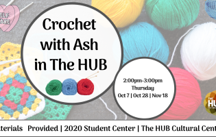 Crochet with Ash in the hub