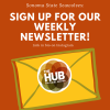 sign up for our weekly newsletter
