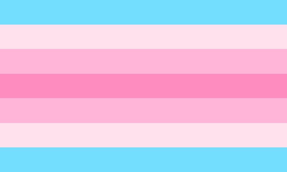 Trans Feminine Flag
